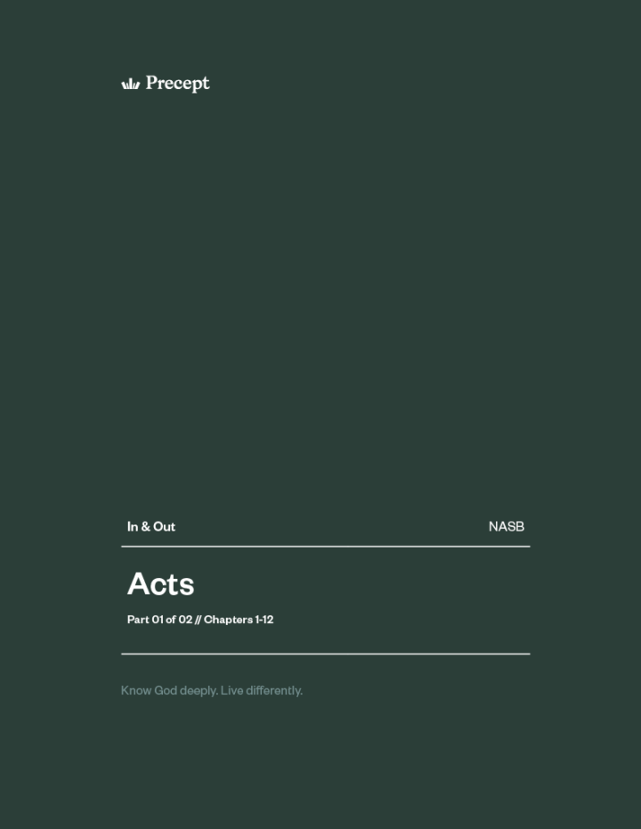 Acts (Part 1) In & Out