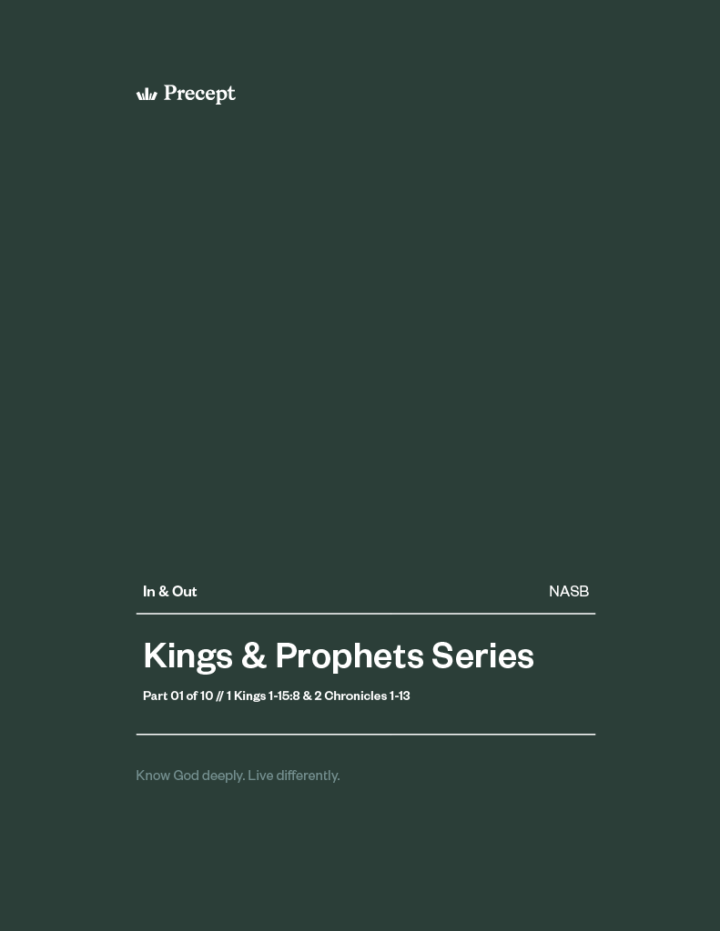 Kings and Prophets (Part 1) In & Out